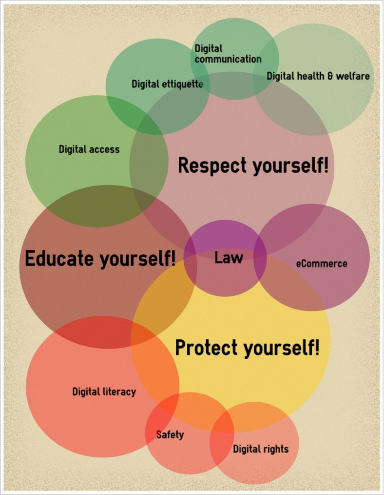 Digital Literacy infographic